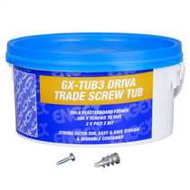 Trade Tub 3 Metal Cavity Fixings and Screws (Tub of 200)