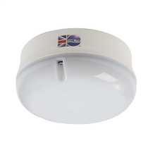 16W 2D Nimrod High Frequency Bulkhead Opal Diffuser White Base