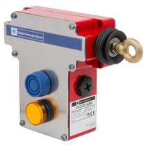 Emergency Stop Rope Pull Switch without Tensioner with Pilot Light