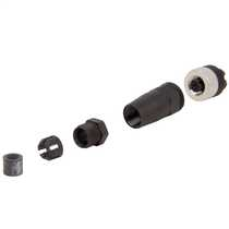 4 Pin M12 Straight Female Connector