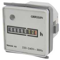 Panel Mounted 230v AC Hours Run Meter