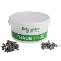 Thorsman Trade Tub 1.0mm / 1.5mm² + 2.5mm² T&E Cable Clips (Tub of 800)